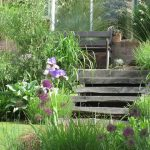 Railway sleeper steps